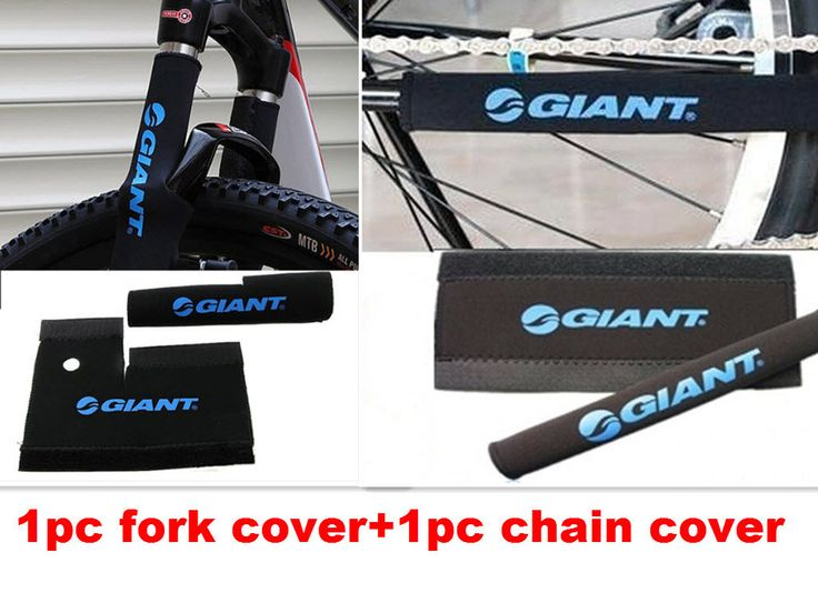 2PC/lot GT bike Guard Cover Pad Bicycle accessories cycle Chain Care Stay Retain Post Protector bike front fork Protective cover