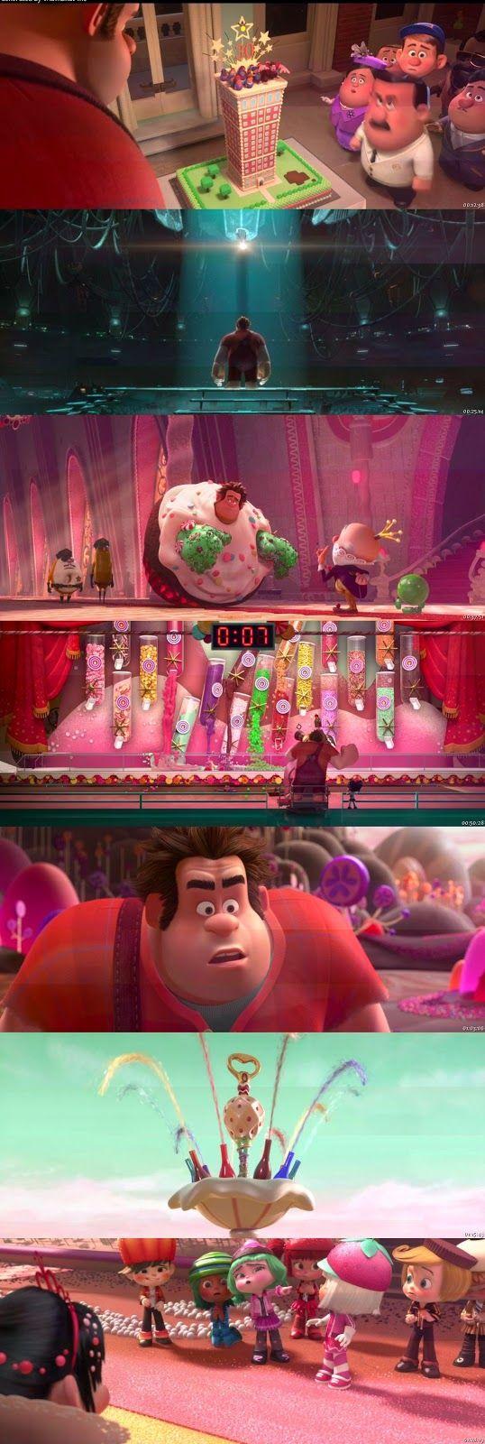 Película del 2012 Calidad en Alta Definición 720p HD con Audio Español Latino Película de Comedia y Fantasia Ralph el Demoledor anhela ser amado y respetado