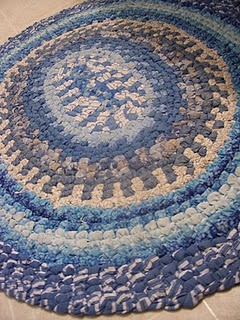 No sew rug making tutorial