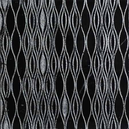 Ondina veneziana by Dorsoduro collection. Handamade in Venice: nero marquina marble with metallic leaf applied on the top