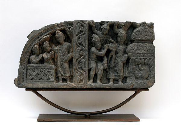 « l'hymne du Naga Kalika et de sa femme », « La Soumission des Kasyapa (Kassapa) » ou « Le Miracle d' Uruvela (Uruvilva) ». Collection Amory