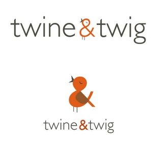 I like the way the bird is subtly applied to the ampersand. A less obvious approach than the second option.