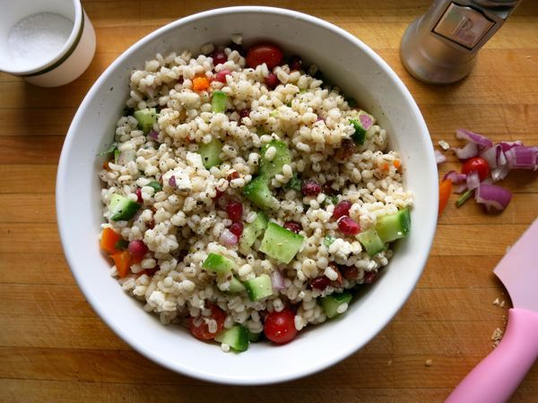 Three steps to healthier lunches from Dinner: A Love Story