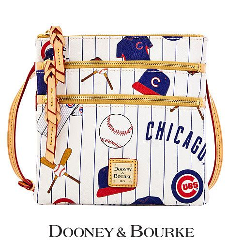 Chicago Cubs MLB Triple Zip Crossbody by Dooney & Bourke - MLB.com Shop