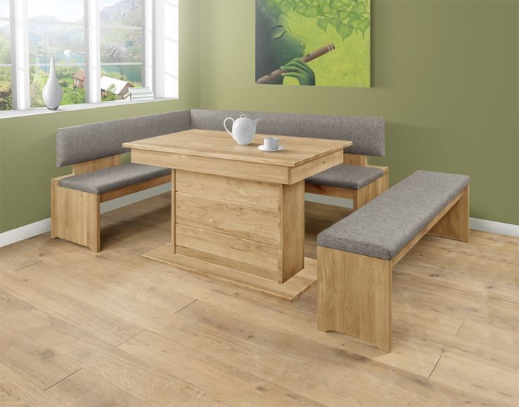 Palermo offers practical stylish dining, providing plenty of room for all the family and guests! This cleverly designed, space saving corner bench will enhance any social food occasion, be it breakfast, supper or your own fine dining. #SolidOak