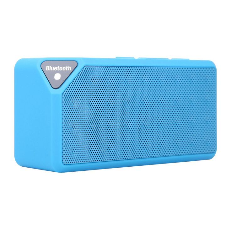 3 Color Bluetooth Wireless Stereo Speaker Portable For iPhone Samsung Tablet PC Support TF USB Slot FM AUX