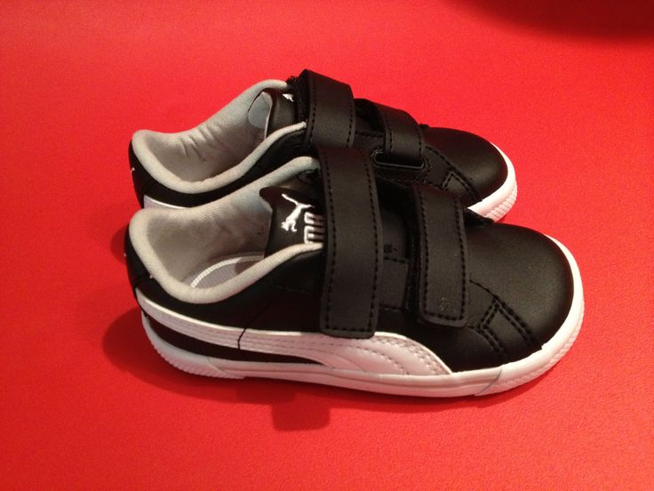 Cutest new trainers for littlest one. Only €12 from Puma outlet store. Bargain! #toddler #trainers #kids #puma #kidstrainers