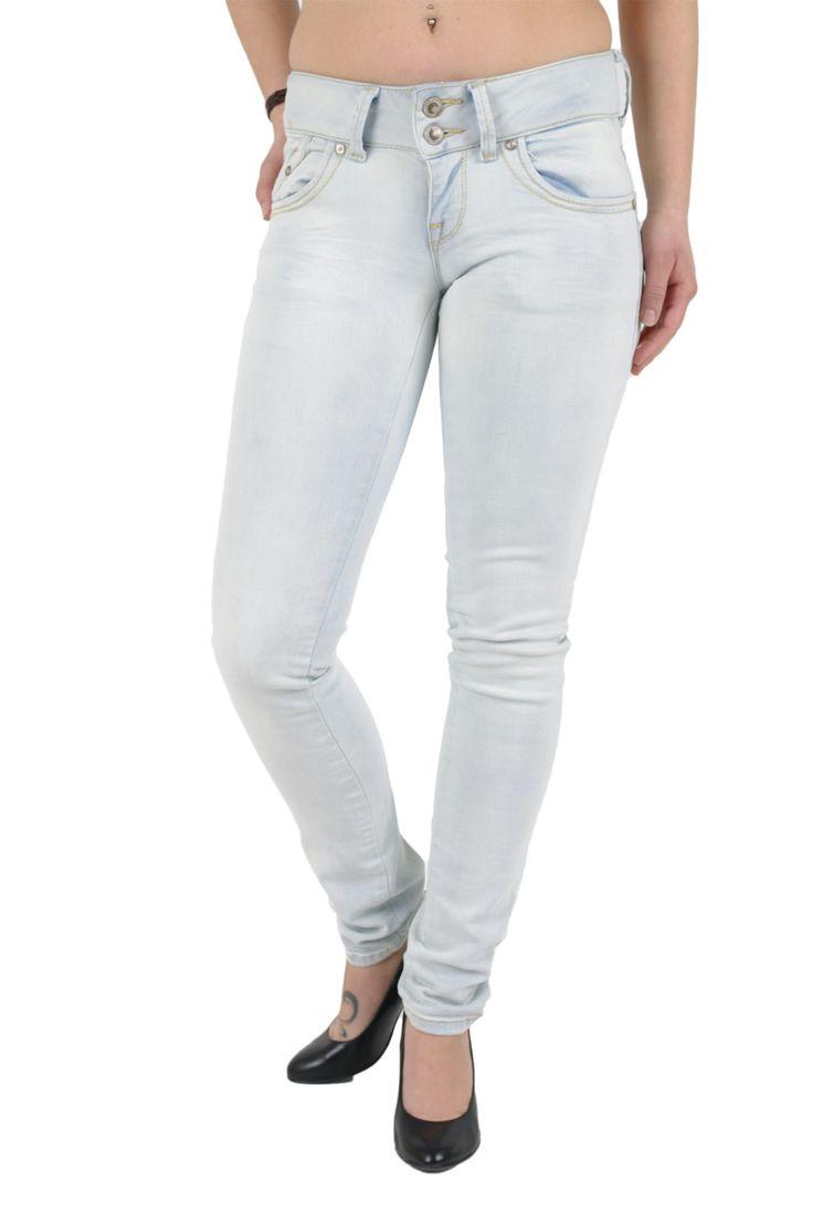 LTB Damen Jeans Super Slim Fit in der Waschung Falcone