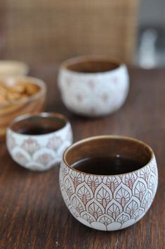 west elm pine needle clay vases
