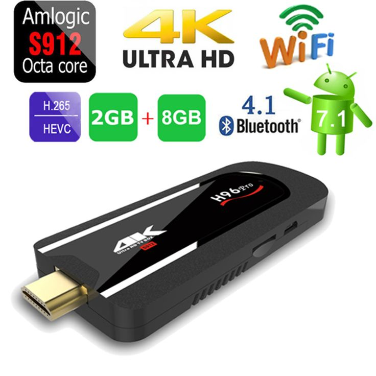 New products HD TV Box Android 7.1.1 OS WIFI HDMI 4K H96 pro Mini PC 2GB/8GB Octa core Smart TV Box for Youtube facebook twitte //Price: $58.31//     #Gadget