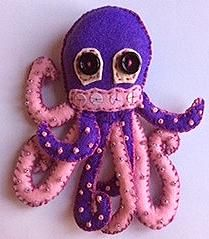 Oscar, the octopus, front view