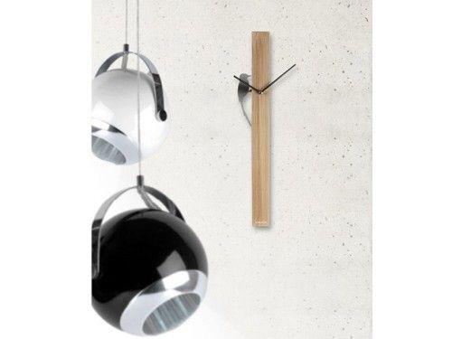 Reloj pájaro cromado. #Karlsson #relojes #watches #deco #vintage #fashion clocks #wood #steel Present Time