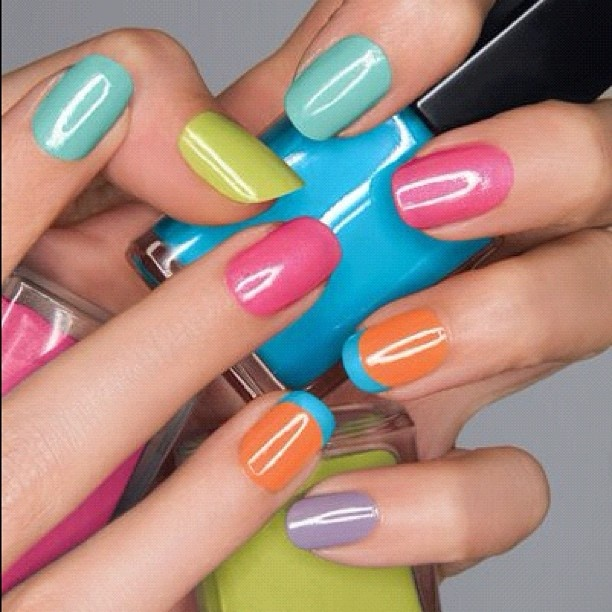 Fun spring/summer colors | Nails | Pinterest | Color nails ...
