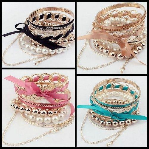 New Style Fashion Sweet Bow Bracelet, AU$10.95