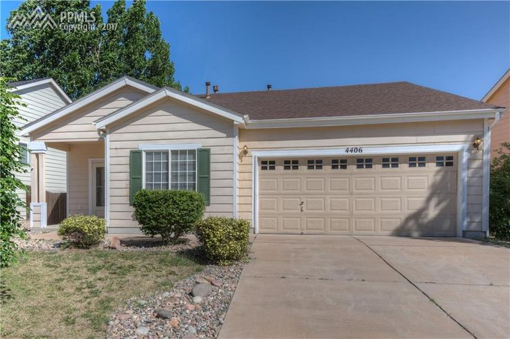 FOR SALE One Level 3bd/2ba/2car 4406 E Anvil Dr  Colorado Springs, CO 80921 Priced at $213,500. Move-in Ready!  Close to Post.