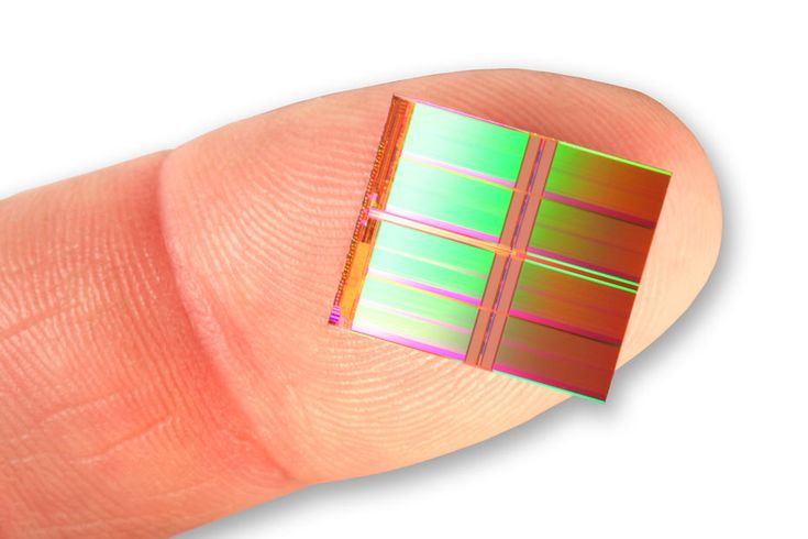 The world's first 128Gb NAND Flash Chip