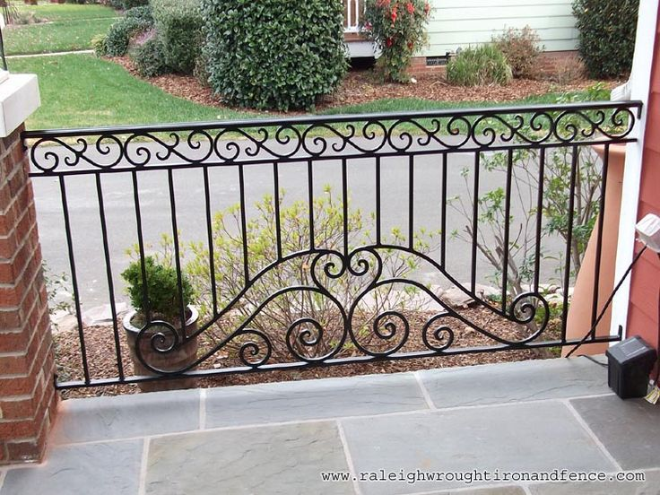 Philadelphia PA custom wrought iron railings Raleigh Wrought Iron Co.
