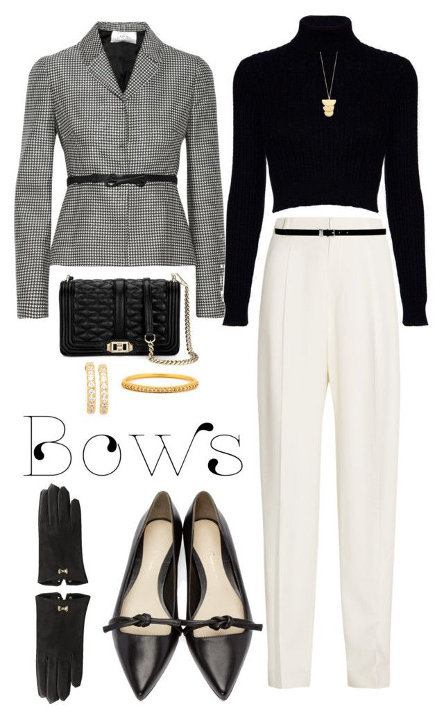 """Bows"" by susan0219 ❤ liked on Polyvore featuring Valentino, Jack Wills, Joseph, Nine West, 3.1 Phillip Lim, Clover, Gorjana and Ted Baker"