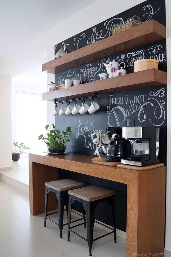 Adesivo Lousa para cantinho do café