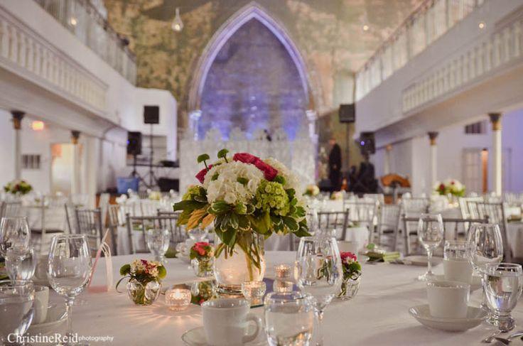 The Berkeley Church Wedding Venue Setup, Toronto Ontario