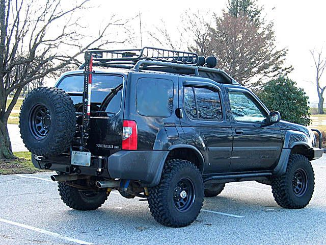 offroad front tire rack   Xterra Rear Bumper & Tire ...