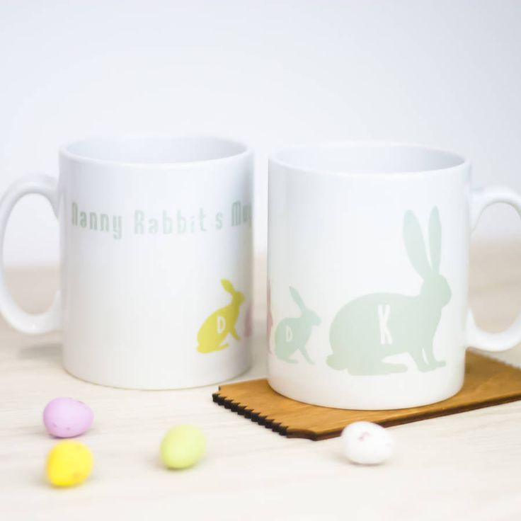 Personalised Bunny Mug – Little Pieces