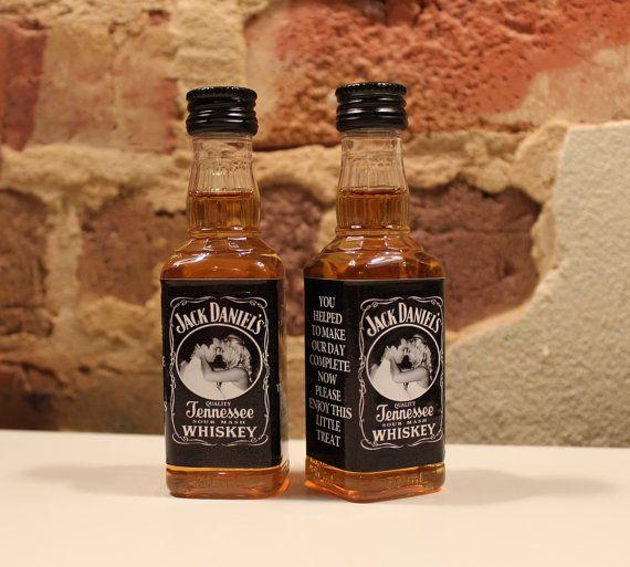 Mini bottles jack daniels and bottle labels on pinterest