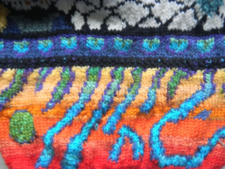 From 'Knit a Reef' sweater...circa 1998