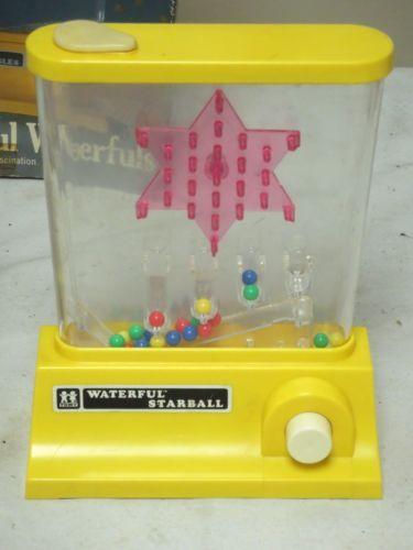 I Water Games della Tomy. Mia sorella aveva questo :)  Tomy-Waterful-Starball