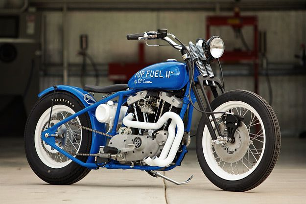 If there's a specialist in custom Harley-Davidson Ironhead Sportsters, it's Arizona-based DP Custom Cycles.