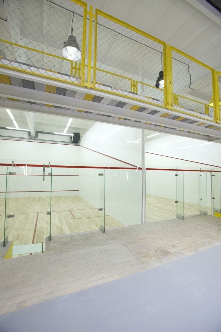 Gallery of Squashynski Squash Club / BUCK.ARCHITEKCI - 6