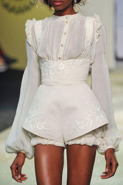 Ulyana Sergeenko at Couture Spring 2013 - StyleBistro