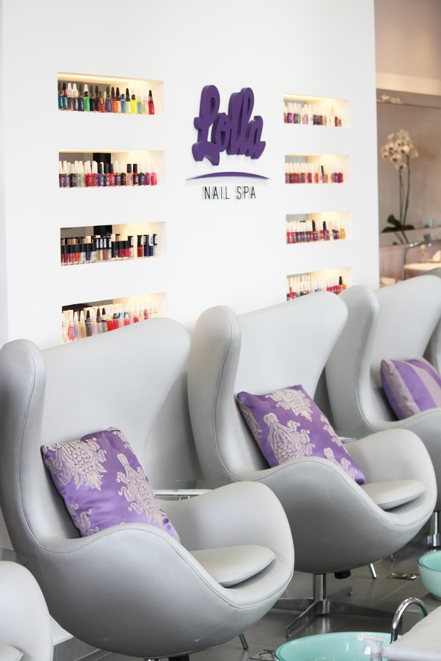 Love the pedicure chairs