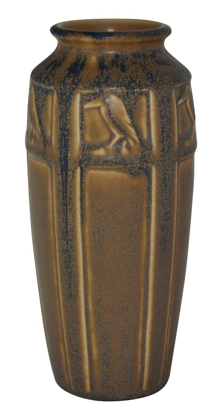 327 best pottery images on pinterest ceramic art ceramics and rookwood pottery 1927 mottled caramel and blue rook vase 2322 reviewsmspy