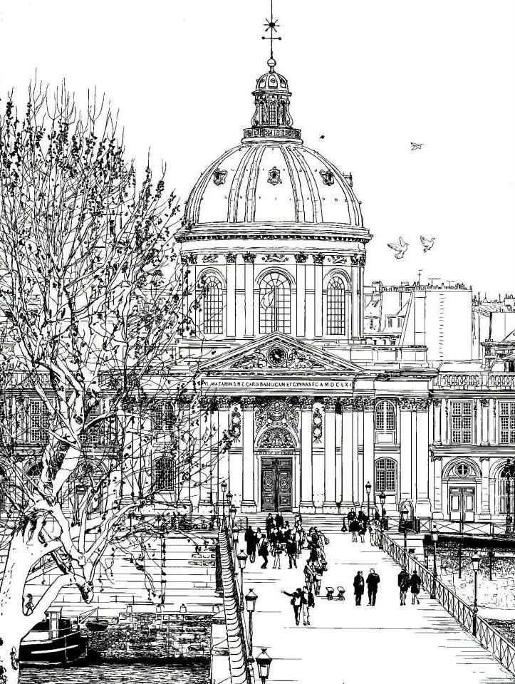 46 Best Images About Adult Coloring Book Dream Cities