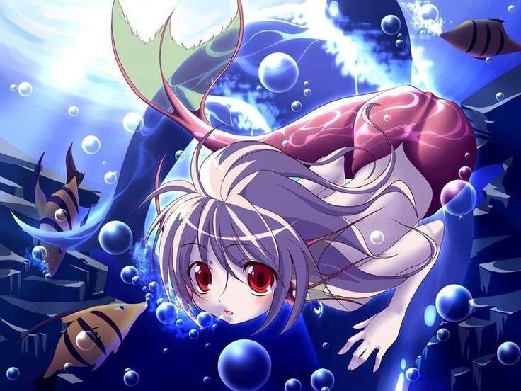 meerjungfrau (anime) Vektorgrafik