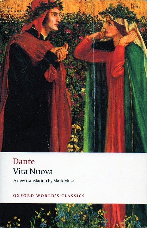 beatrice is the vita nuova essay In his life, he created two major books of poetry: vita nuova and the comedy the comedy, which was later renamed the divine comedy, is an epic poem broken down into three books in each of which dante recounts his travels through hell, purgatory, and heaven.