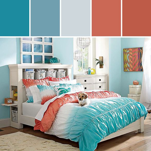 8 best pottery barn kids color inspiration stylyze images on pinterest bedrooms big girl for Pottery barn bedroom inspiration