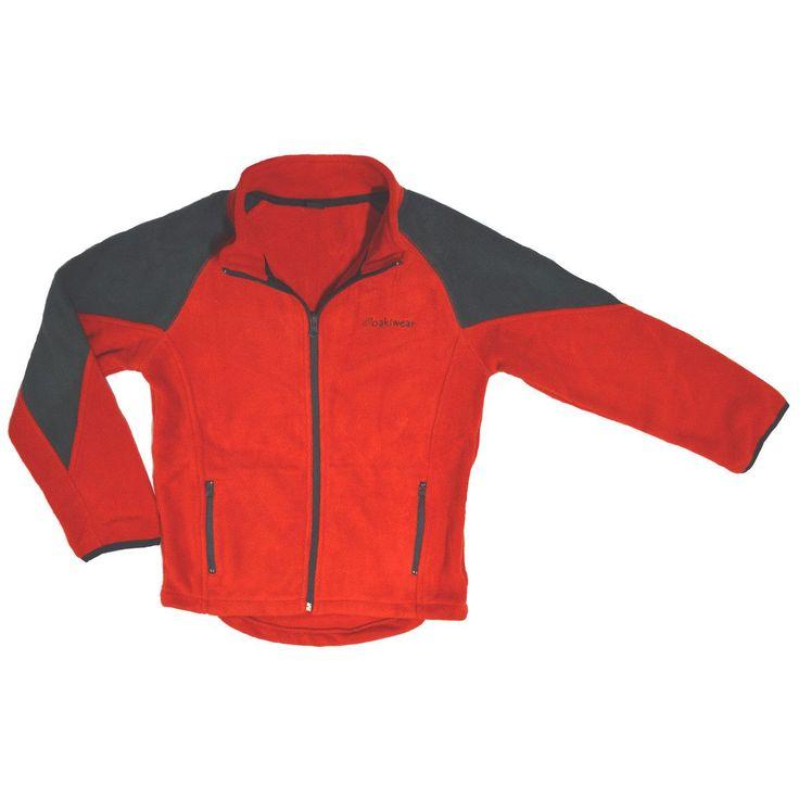 Children's Polar Fleece Jackets, Red