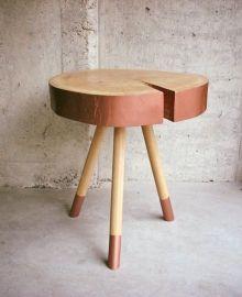 Stolik kawowy / coffee table #wood #atelio #minimal #studio #handmade #meble #sklep #online #furniture