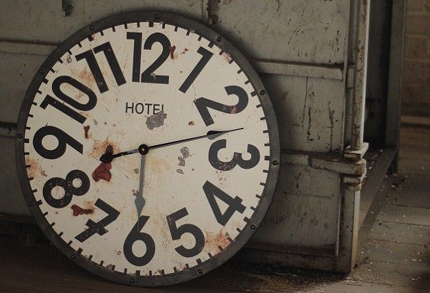 Large Vintage Wall Clocks | Antique Reproduction Hotel Clock