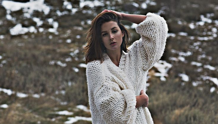 There is no better time for shopping cozy jumpers as at the end of August and beginning of September.