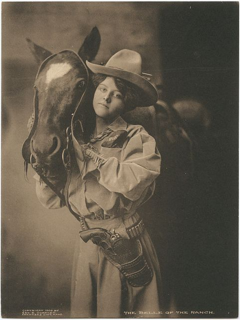 The Belle of the Ranch. by SMU Central University Libraries, via Flickr