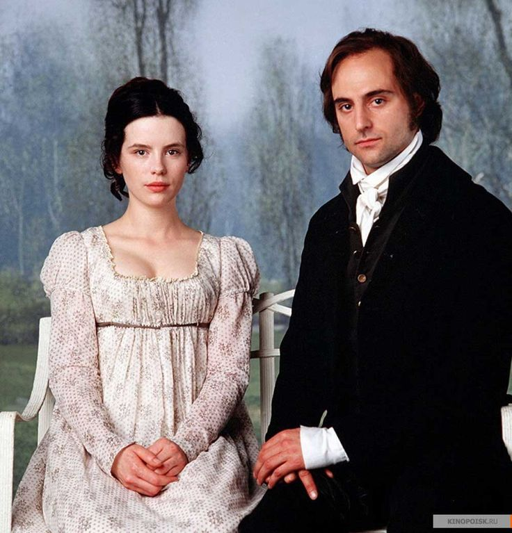 Kate Beckinsale (Emma Woodhouse) & Mark Strong (Mr. George Knightley) - Emma directed by Diarmuid Lawrence (TV Movie, 1996) #janeausten