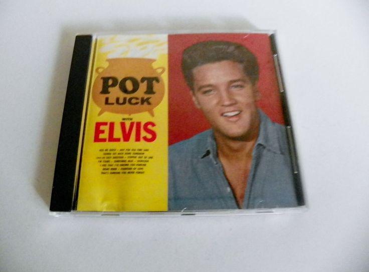 ELVIS PRESLEY CD POT LUCK RCA 2523-2-R NM UNKNOWN YEAR ORIGINAL 12 SONGS #BluesRockRocknRoll