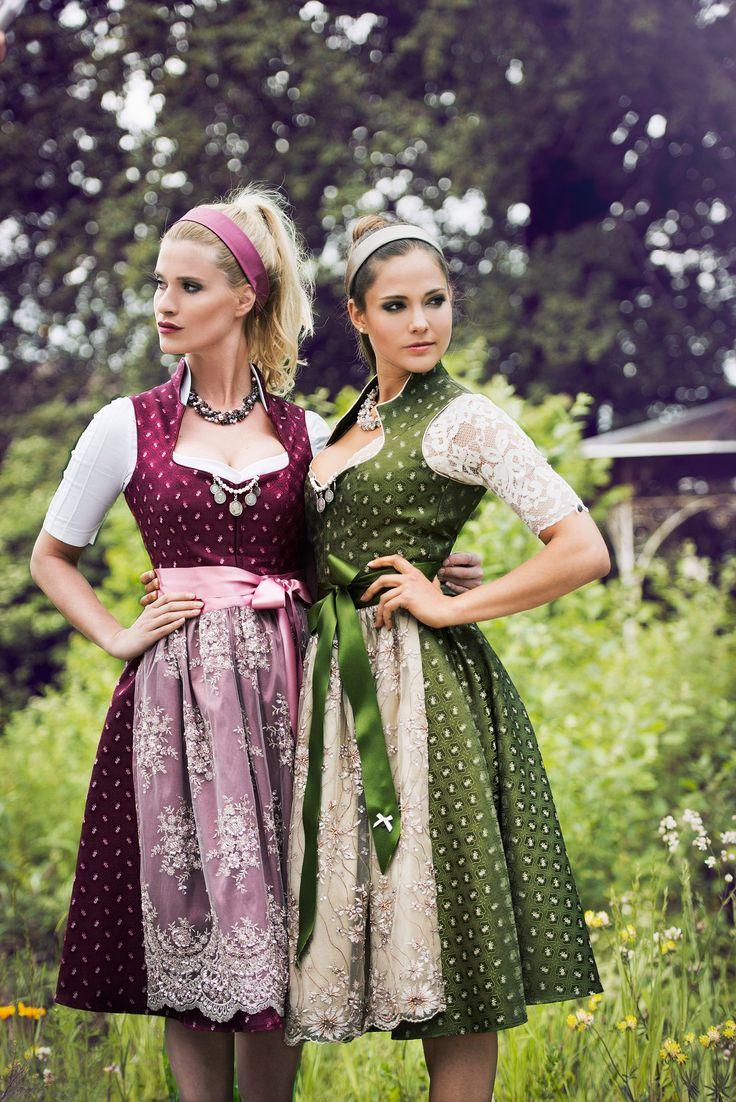 Alpenherz Dirndl. Top 5 favorite dirndl designers autumn winter 2016. ludwigs.nl