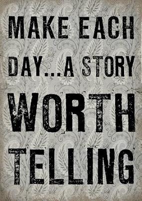 Make each day...