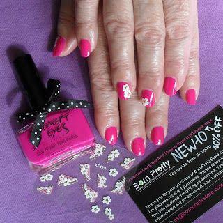 Лак для ногтей / Bowknot Nail Polish + Наклейки для ногтей / 3D Nail Art Stickers от #BornPrettyStore ~~~~~BornPrettyStore~~~~~ бесплатная доставка и 10% скидка  ~~~~~~купон 'NEW10'~~~~~~ http://margoenek.blogspot.ru/2015/09/bowknot-nail-polish-3d-nail-art-sticker.html