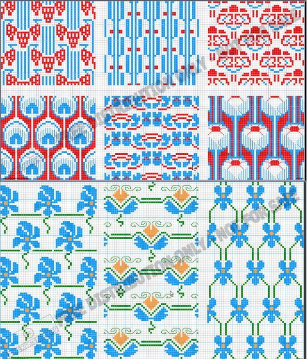 Gallery.ru / Фото #12 - DMC Point de croix - livadika