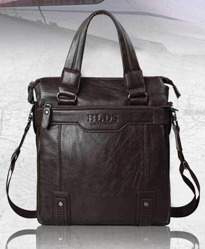 High quality brand men's handbag,PU Leather men single shoulder bag,14 inch computer bag,Leisure business men messenger bags